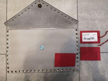 Brand New Valentino Envelop Clutch