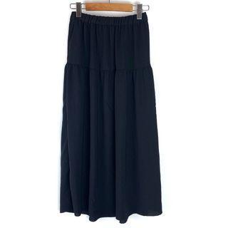 Aritzia Wilfred Black Midi Skirt XS