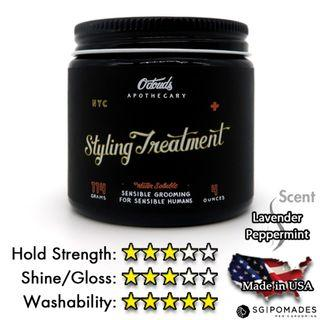 O'douds Styling Treatment (Reformulated 2019) - SG Pomades Mens Grooming