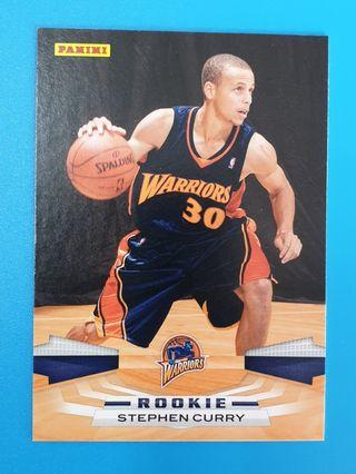 *RC* Steph Curry Panini 2009-10