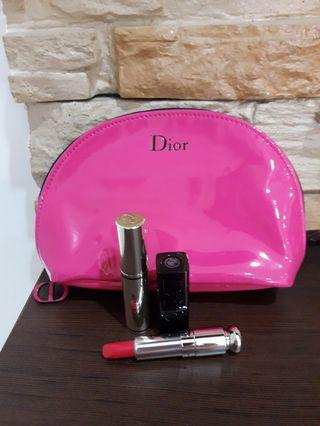 ❤Promo❤ Authentic Dior Pink Pouch set