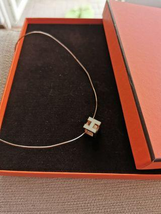 Hermes Necklace Cage H