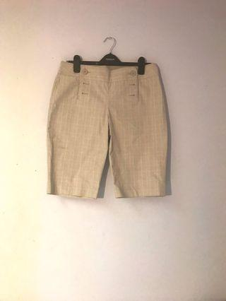 Beige Bermuda Shorts
