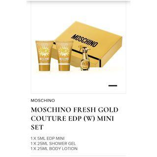 Mini set parfume moschino edp 5ml