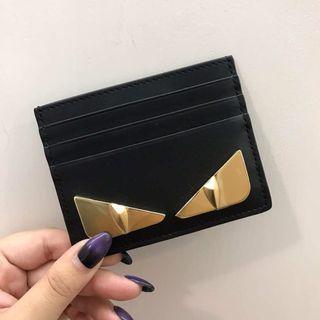 (現貨) Fendi card holder 卡片套 6咭位 金眼