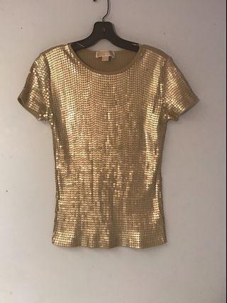 Vintage Michael Kors Sequins T Shirt