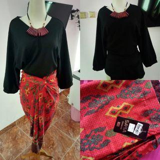 SALE!! 1set blouse & kain batik
