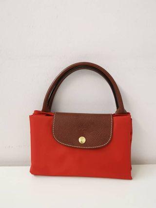 Long Champ Red handbag