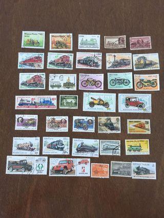 外國郵票—陸上交通LO1