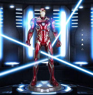 Preorder - Marvel The Avengers Ironman Mark 45 MK45 Half Size Display Statue