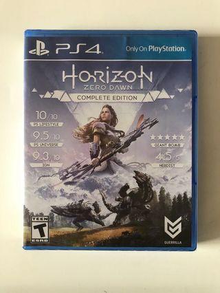 🚚 Ps4 Horizon Zero Dawn Complete Edition