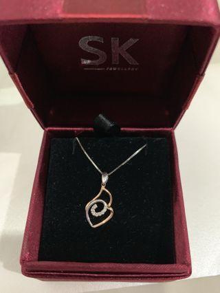 SK Jewellery Pendant + Necklace