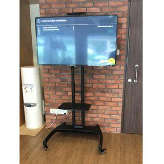 """TV Trolly Stand with Mount 32-65"""" universal whatsapp:8778 1601"""