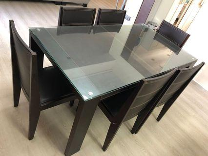 Lorenzo Dining Table and Chairs Set