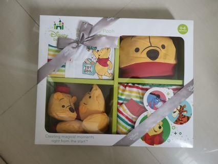 Disney baby Winnie the pooh newborn gift set