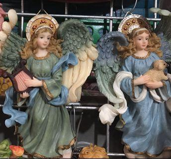 Angels with Angelic Faces (set of two)