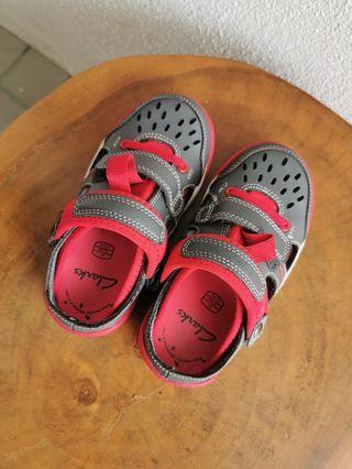 Clarks Boy Slip On Sandal