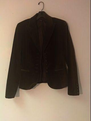 Dark Brown Vintage Blazer