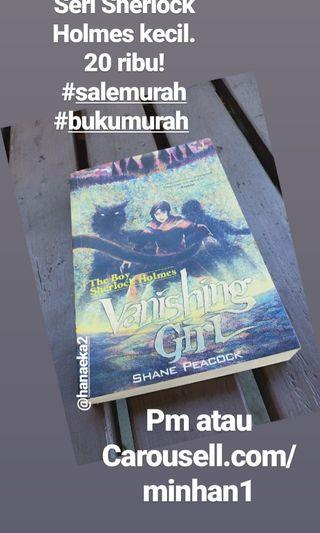 Vanishing Girl terjemahan (seri sherlock kecil)