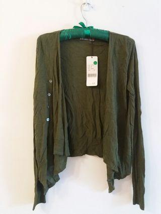 專櫃 綠色涼爽小外套