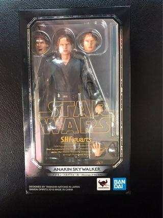 Bandai SHF ANAKIN SKYWALKER Revenge of Sith STAR WARS 星球大戰