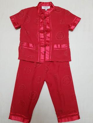 Traditional Chinese Clothing Set for Boys