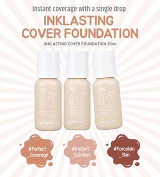 Peripera Ink Lasting Cover Foundation