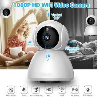 HD1080P Smart Home Security Camera Wi-Fi Wireless CCTV IP IR Night Baby Monitor