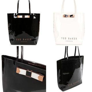 Authentic Ted Baker Shopper Bag (Black)
