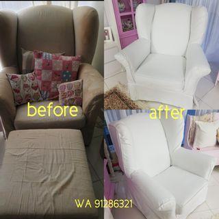 Sofa cover maker