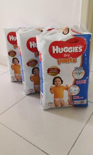 Huggies dry pants XL