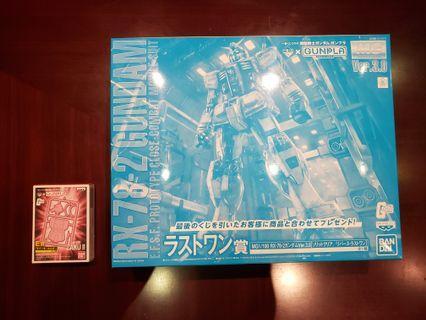 高達 Gundam RX-78-2 一番賞Last One.     全新 ver. 3.0 MG 1/100
