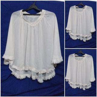 White outer free size