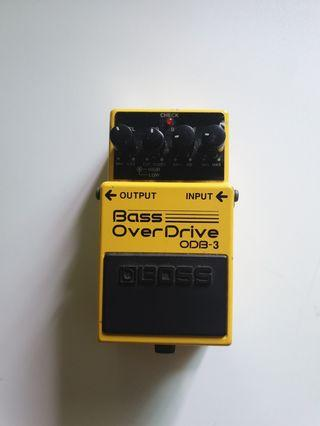 Boss Bass Overdrive Pedal