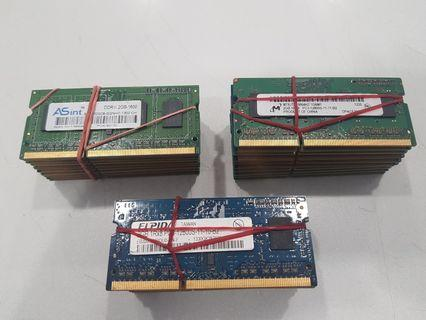 Laptop DDR3 ram 2GB