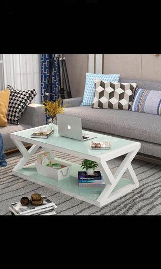 🚚 Brand New glass tea table