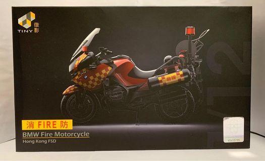 Tiny 微影 合金車 1:12 BMW Fire Motorcycle(Hong Kong FSD)