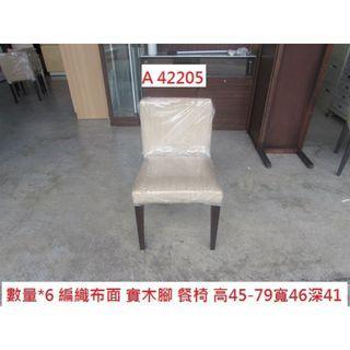 A42205 書桌椅 化妝椅 餐椅 ~ 約談椅 閱讀椅 麻將椅 洽談椅 咖啡椅 櫃台椅 回收辦公傢俱 聯合二手倉庫