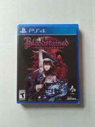 Bloodstained Ritual of the Night PS4 PlayStation