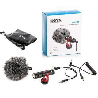 Boya MM1 microphone for camera and phones