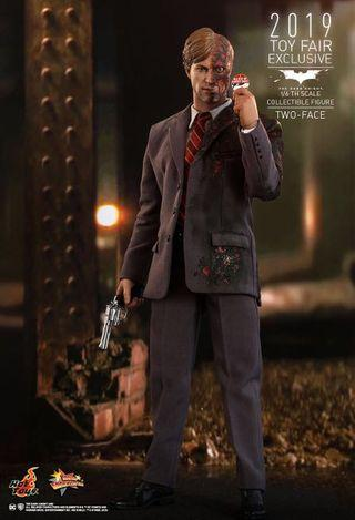 Hottoys hot toys dark knight two face 已取訂單