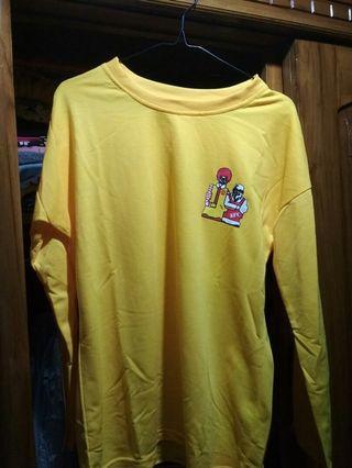 Baju panjang yellow