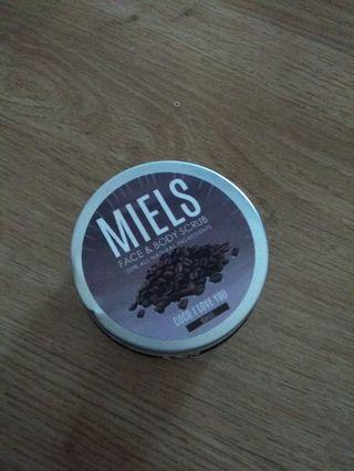 miels coco i love you coffee scrub
