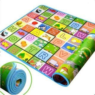 Fruit Letter Kids Floor Foam Crawl Play Mat Carpet Playmat Blanket Rug