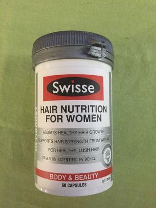 Swisse Hair Nutrition For Women (60 Capsules)