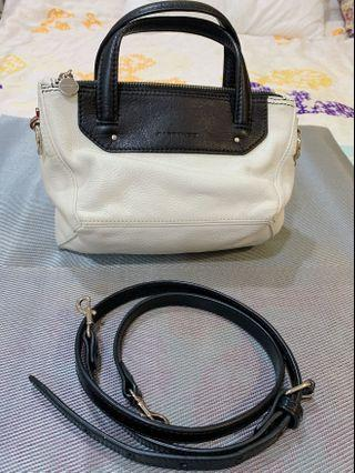 Rabeanco mini bag 幾何立體 黑白小肩包