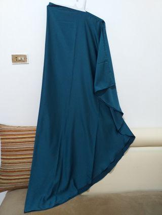 #luckyoetama Khimar Syari Emerald (Hijau Botol)