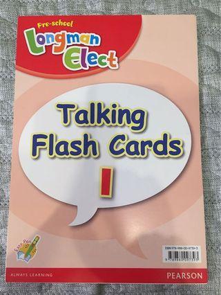 朗文英文記字卡 (Longmen talking Flash cards)