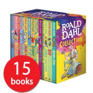 15 Roald Dahl Storybook- children