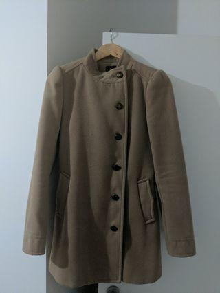 Bardot brown winter coat